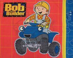 Bob the Builder Standard pillowcase