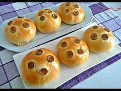 Chifle umplute la cuptor foarte delicioase si pufoase - YouTube Bread, Make It Yourself, Breakfast, Food, Youtube, Kitchens, Morning Coffee, Brot, Essen