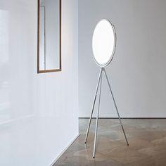 Flos Superloon Floor lamp - Chrome