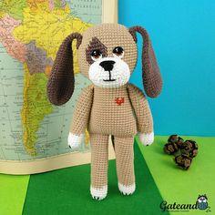 Doky Dog. Look this Amigurumi in my shop. Mira este artículo en mi tienda de Etsy: https://www.etsy.com/es/listing/588220336/amigurumi-perro-doky-dog-perro-de