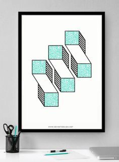 Revert Design - Poster by Trevor Finnegan