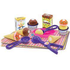 Conheça o divertido Crec Crec Sorveteria da Big Star, um kit muito legal que permite a montagem de uma incrível sorveteria! São várias combinações possíveis para montar deliciosos sorvetes!     Inclui 3 Casquinhas, 3 Copinhos, 6 bolas de sorvete e acessórios para tornar a diversão ainda melhor.     Um brinquedo muito legal que vai estimular a imaginação e também proporcionar muitos momentos de alegria e diversão.