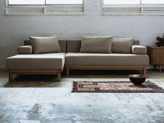 SIEVE rect. unit. sofa long