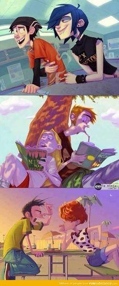 Ed, Edd n Eddy 2.0 ... Oh my gosh I love this.