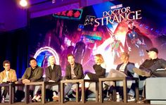 DOCTOR STRANGE: Behind-The-Scenes with Benedict Cumberbatch, Cast & Crew by Sarah Woloski