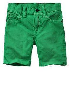 Frayed denim shorts   Gap