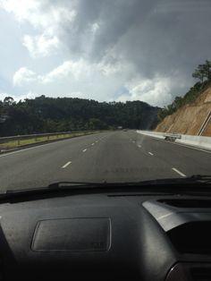 The new highway headed to Ocho Rios Ocho Rios, Homeland, Jamaica, Country Roads, River, Island, Places, Negril Jamaica, Islands