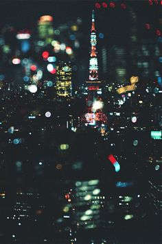 Bokeh in the city