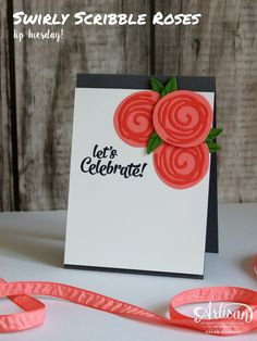 Stampin' Up! - Swirly Scribble Dies - Stamping With Val - Make It Here! #tiptuesday