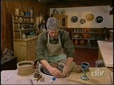 Throwing and Assembling Goblets with Bill van Gilder - From DIY's, 'Throwing Clay' - YouTube