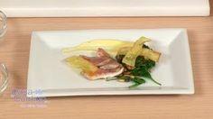 Salmonete con Espinacas,Piñones,Patatas y Mayonesa de Ajo, Receta y Elaboracion, via YouTube.