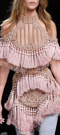Balmain Fashion Show & More Luxury Details