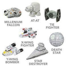 Pretty Cute SD Star Wars Plush Vehicles
