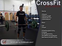 WOD del 01 Febbraio 2017