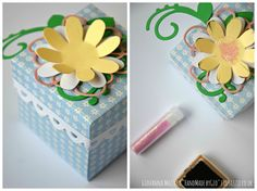 HandMade by Gio: Favor Box - Sizzix