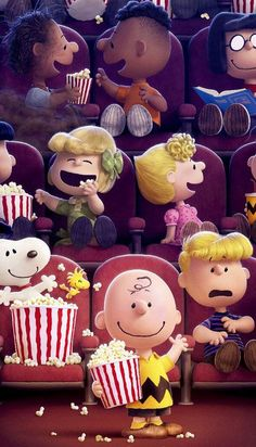 Peanuts gang at the movies Snoopy Love, Snoopy E Woodstock, Charlie Brown Snoopy, Dog Wallpaper Iphone, Snoopy Wallpaper, Disney Wallpaper, Cartoon Wallpaper, Peanuts Movie, Peanuts Snoopy