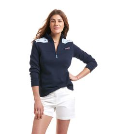 Shop Whale Embroidered Shep Shirt at vineyard vines