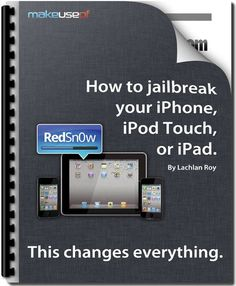 How to jailbreak your iPhone, iPod Touch, or iPad...which is to get past the Apple limitations on apps that you can make use of on your device. I love this website! iphonejailbreak_500