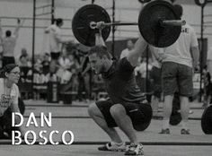 "Dan Bosco  Dan is the owner and head trainer at Windsor CrossFit. He placed 8th Overall in Canada East in the 2012 CrossFit Games Open, 16th Overall in the 2012 Canada East CrossFit Games Regionals, 2nd Overall in the 2012 CompWOD Canada East ""Best of the Best"" Invitational, 5th Overall in Canada East in the 2013 CrossFit Games Open, 18th Overall in the 2013 Canada East CrossFit Games Regionals.   Find out more here: http://badasswodwear.ca/meet-team-badass/team-badass-dan-bosco/"