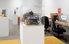 Internet Centre & Habesha Grocery, installation view, The Basement at Paradise Row, London.