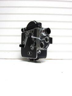 Vintage Camera Bolex H16 Reflex C Mount 16mm by GoodBonesVintageCo, $325.00