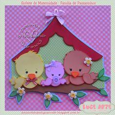 Doce Arte by Pati Guerrato: baby Kids Crafts, Preschool Crafts, Diy And Crafts, Arts And Crafts, Foam Sheet Crafts, Foam Crafts, Paper Crafts, Foam Sheets, Felt Birds