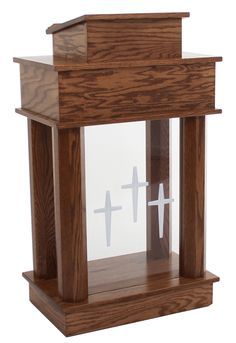 Church Furniture Store - Exhorter 810 Column Pulpit, $999.00 (http://www.churchfurniturestore.com/exhorter-810-column-pulpit/)