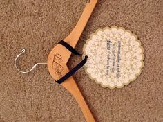 love this for asking friends to be your bridesmaid- matching hangers on the wedding day for bridesmaid dresses is perfect
