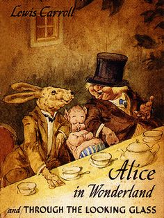 Vintage Alice in Wonderland cover--Unknown