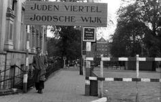 1943. Entrance to the Jewish section in Amsterdam. #amsterdam worldwar2 #jewishsection