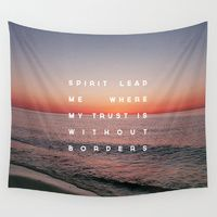 Wall Tapestries featuring Spirit Lead Me by Zeke Tucker