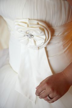 Galina Ivory Taffeta Ball Gown with layered Tulle Skirt Size 8. Comes with the custom made veil as well as the underskirt. The veil has crystals subtly added to it.  $275 http://cgi.ebay.com/ws/eBayISAPI.dll?ViewItem=121125169420  #wedding #weddingdress #beautiful #ballgown #fabulous