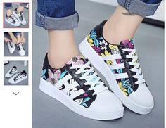 Color: BLACK, Blanco Categoría: Zapatos > Zapatos de Mujer > Zapatillas de Deporte Los zapatos son parciales más pequeño que el tamaño normal de un solo tamaño. Tipo: Para las Mujeres Tipo…