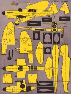 Plane Cardboard Model, Cardboard Toys, Paper Toys, Paper Airplane Models, Model Airplanes, Airplane Design, Airplane Art, Paper Car, Paper Plane