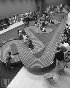 """Some of my fondest memories were at """"slot car tracks"""" like this one. Wish they were everywhere again!"""