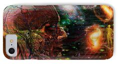 Solar Life IPhone 7 Case featuring the digital art Solar Insight Of by Joseph Mosley