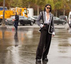THE STREET VIBE: Brittany Xavier Rainy Outfit, Street Style, Paris, Chic, Brittany, Chanel, Outfits, Fashion, Rains Clothing