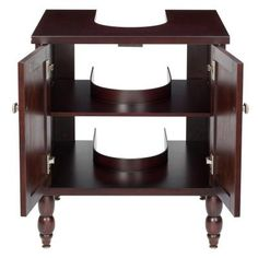 D Vanity Cabinet Only For Pedestal Sinks