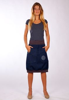Bubble Rock, New Years Dress, Bubble Skirt, Jeans Rock, Office Outfits, Couture Dresses, Jeans Style, Minimalist Fashion, Color Combinations