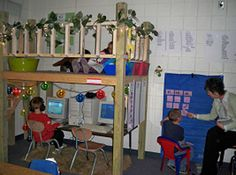 Lofts For Classroom On Pinterest Reading Loft Loft And