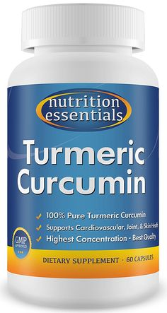 no.1 Turmeric Curcumin - Most Potent Turmeric for Joint Pain - 100% Pure and Organic Turmeric Curcumin - 60 Day Supply ** Trust me, this is great! Click the image. : Herbal Supplements