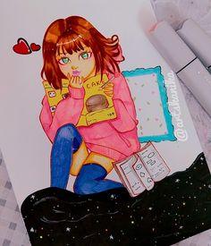 Anime kawaii girl sketch girl pencilsketch Kawaii Girl, Kawaii Anime, Girl Sketch, Disney Inspired, Fashion Sketches, Anime Art, My Arts, Manga, Illustration