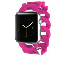 Apple Watch 38mm Shocking Pink Bracelet Band l Case-mate  #casemate #applewatch fashion accessory