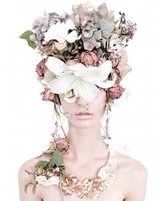 Photographer Carine Thevenau. Stylist Paul Bui. Art Director Jasmine Noir. Model Grace Hollows @ Chadwicks.