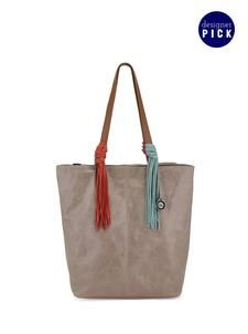 Palisade Leather Tote