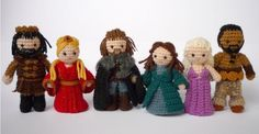 Game of Thrones Crochet Figurines by Kati Galusz