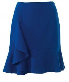 burda style 11/2016 - Taller de costura - Falda con volantes