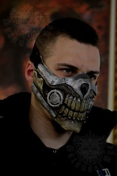 Mad Max Mask by SatanaelArt Stylish Fashinable walking sticks canes for gentleman & ladies. Fashion accessories with Unique design Mad Max Fury Road, Futuristisches Design, Mask Design, Immortan Joe Mask, Mad Max Mask, Neverending Story Movie, Motorcycle Mask, Biker Helmets, Biker Gear