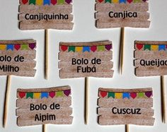 Plaquinhas para Comidas de Festa Junina Happy Birthday, Birthday Parties, Happy Party, Party Decoration, Partying Hard, Childrens Party, Holidays And Events, Party Time, Diy And Crafts