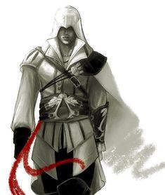 Ezio 02 by ~ameij on deviantART